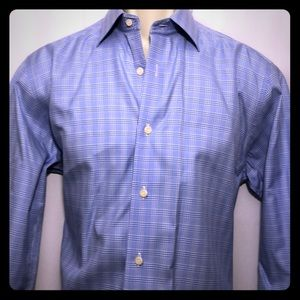 David Donahue man's dress shirt trim 15.5/33